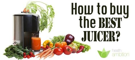 What are the best juicers to buy on the market in 2015 free guide