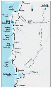 Ecola State Park Map by Ecola State Park Hikes Arch Cape Inn Arch Cape Inn