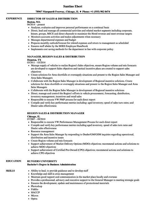 Distributor Sle Resumes by Sales Distribution Resume Sles Velvet
