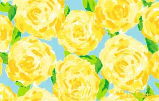 sunglow yellow first impression lilly pulitzer prints