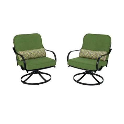 motion patio chairs hton bay fall river motion patio lounge chair with moss