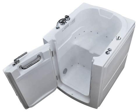 Bathtub Drain Configuration 32 X 38 Air Jetted Walk In Bathtub Left Drain