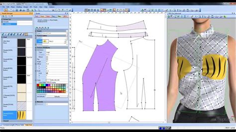 pattern design software mac optitex shader tool tutorial 3d suite fashion design