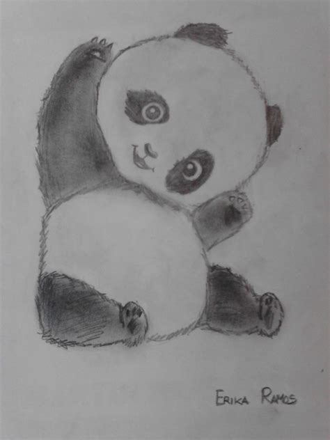 dibujos a lapiz imagenes gratis panda dibujo a lapiz dibujos pinterest panda