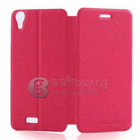 Ipearl New Leather With Stand Pink 1 protective cover flip stand leather for doogee dg800 pink
