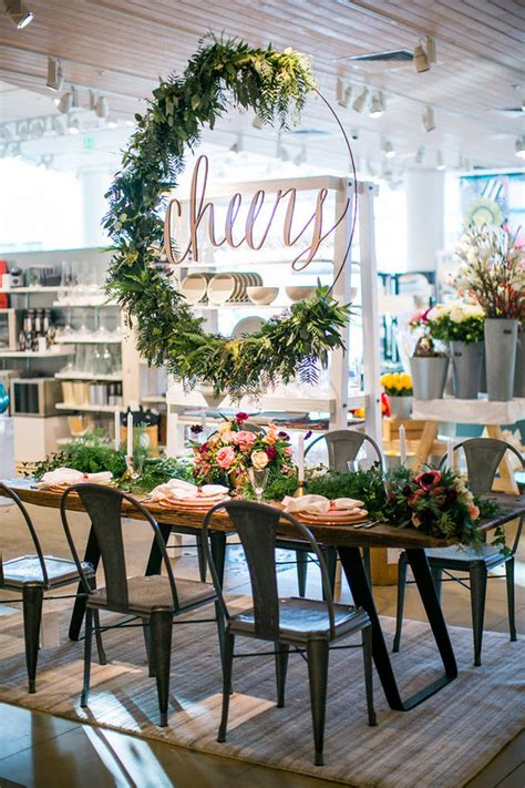 retail decorations how to make a floral hoop wreath less than
