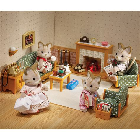 Calico Critters Deluxe Living Room Set Sylvanian Families Deluxe Living Room Set Jadrem Toys