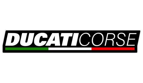 Ducati Sticker Logo by Ducati Motorrad Sticker Ducati Corse Aufkleber Wraparts
