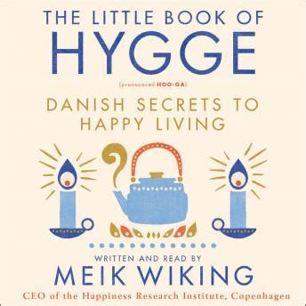listen to book of hygge secrets to happy