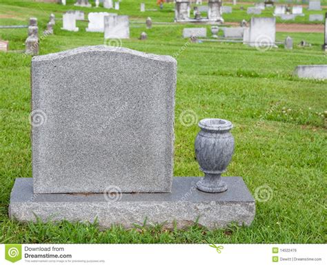 Headstone Vase by Headstone And Vase Royalty Free Stock Image Image 14522476