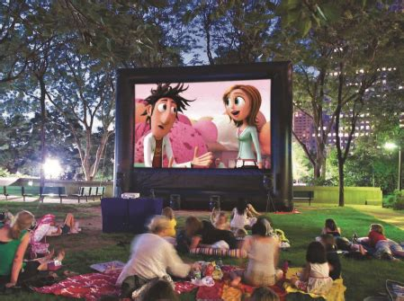 backyard movies outdoor movies by funflicks the best inflatable movie