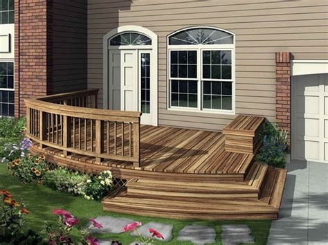outdoor find the right house deck plans with front