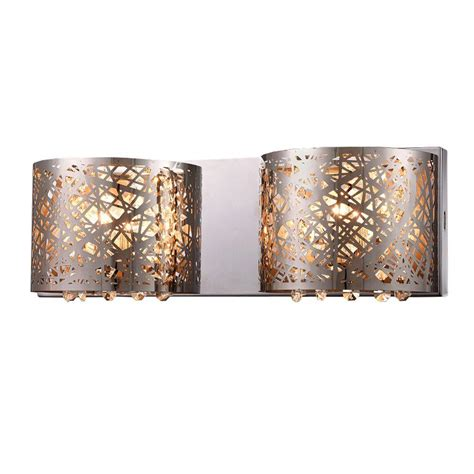 Chrome Indoor Wall Lights 2 Light Chrome Indoor Wall L 14292 The