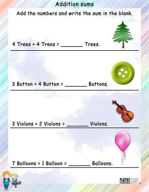 addition word problem solving for grade 1 multistep