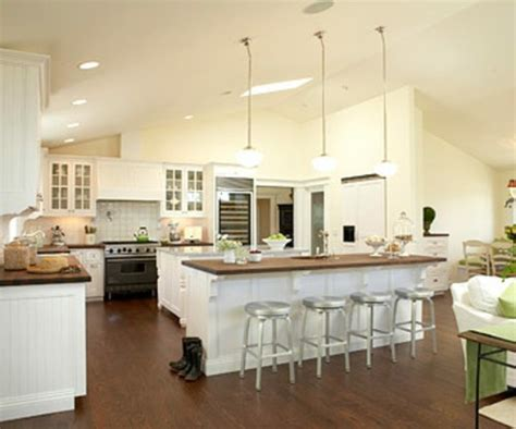 Two Island Kitchen by Plans For Open Kitchen Renovation And Redesign Fresh