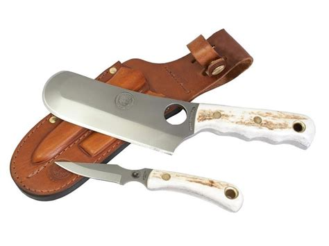 knives of alaska knives of alaska brown combo fixed blade knife d2