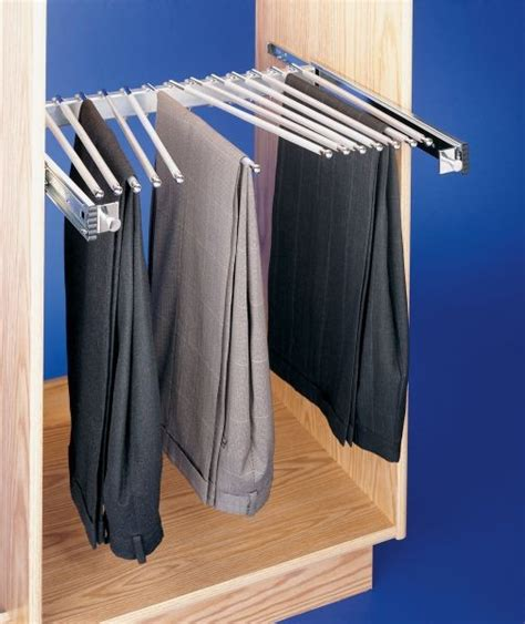 Slide Out Pant Rack pull out pant rack 13 capacity psc 2414cr rev a shelf