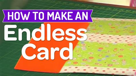 How To Make Endless Birthday Card