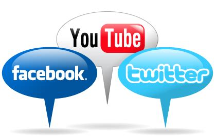 youtube twitter facebook facebook twitter and youtube the life and times of