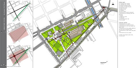 site plan design archiprix 2011 station park