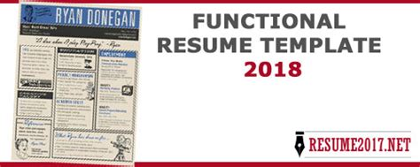 functional resume sles 2018 resume format 2018 16 templates in word