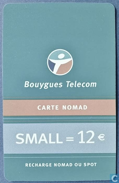 bouygues telecom si鑒e recharge bouygues telecom carte nomad small 12