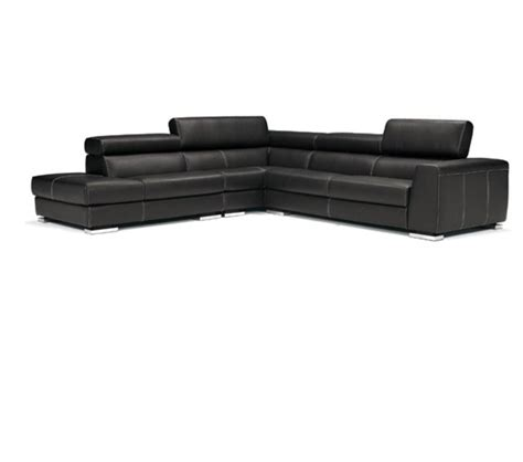modern italian leather sectional dreamfurniture com 553 1 modern italian leather