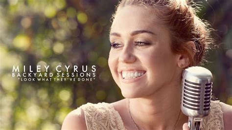 miley cyrus quot look what they ve done to song