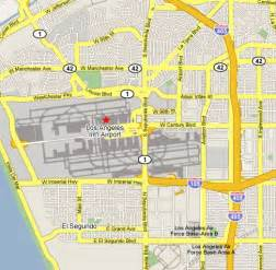 Map Of Los Angeles Airports by Map Of Los Angeles Area Airports You Can See A Map Of