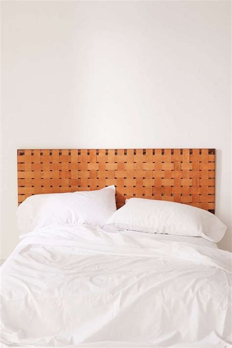 woven headboards 25 best ideas about leather headboard on pinterest