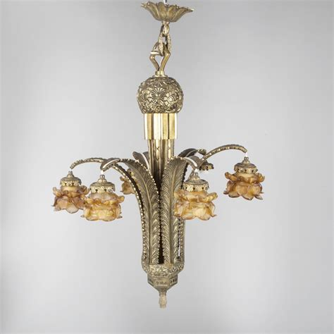 Lustre Deco by Grand Lustre En Bronze D 233 Poque D 233 Co 2015041020
