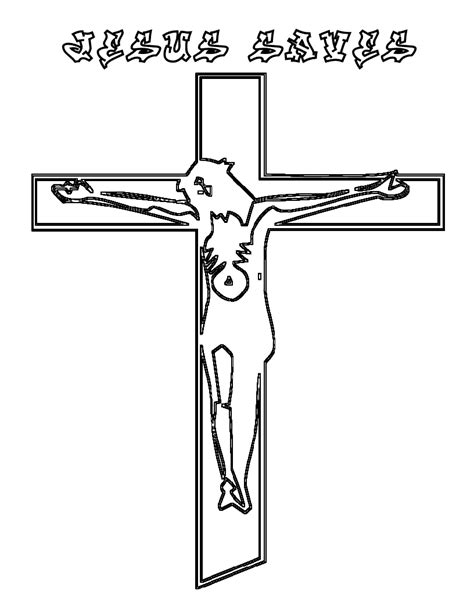 free printable cross coloring pages for kids