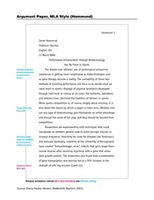 essay outline template mla format sle of mla essay a table in a research paper research
