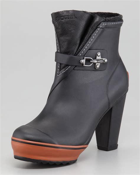 sorel medina high heel boot