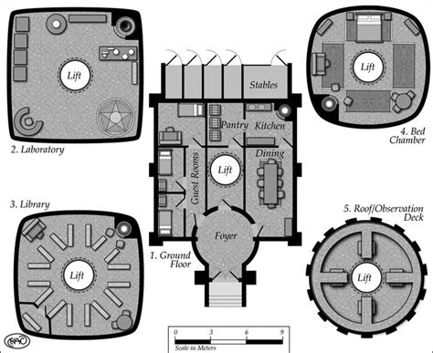 fantasy floor plans map sles keith curtis rpg dungeon map pinterest