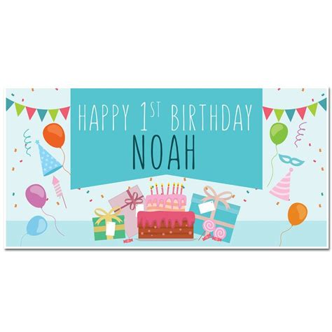 Personalized Birthday Decorations by Happy Birthday Banner Personalized Decoration