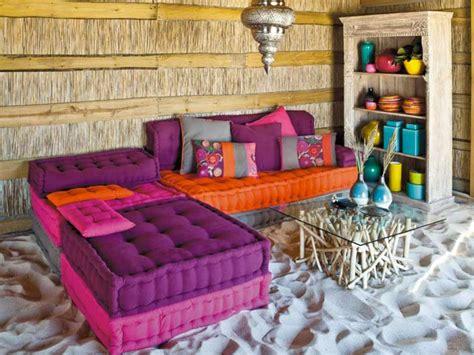 floor cushions instead of couch une d 233 co boh 232 me et gipsy le blog d 233 co de maisons du monde