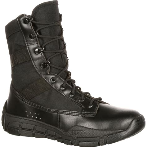 Black Master Boot Us rocky c4t s inspired black duty boots ry008