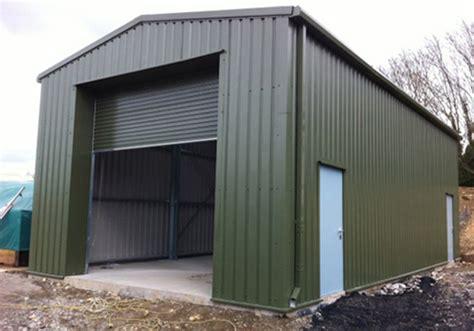 Steel Frame Garage by Steel Framed Garage Kit Steel Portal Frame Building Kits