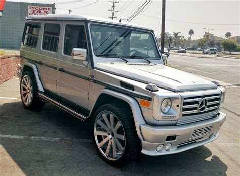 2002 Mercedes G Class by Buy Used 2002 Mercedes G Class G500 In San Francisco