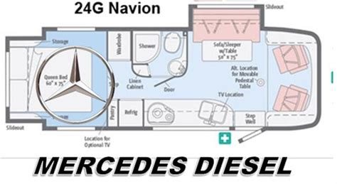 navion rv floor plans new 2015 itasca navion 24g class c for sale