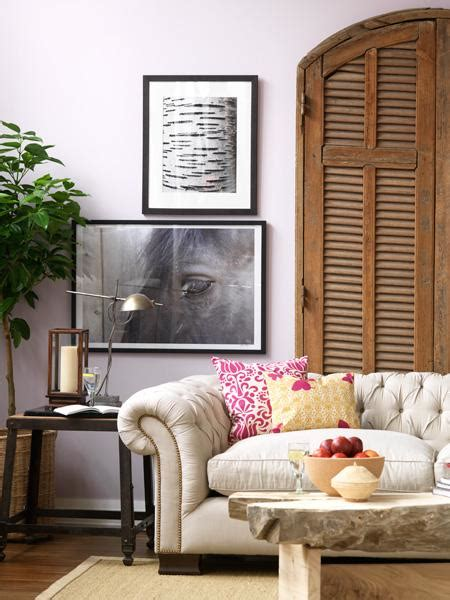 lavender painted walls color theory painting the walls with lavender popsugar home