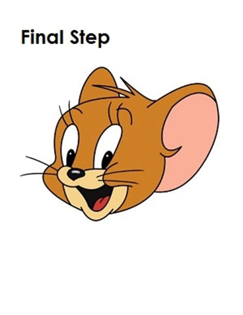 Easy Click Jerry by Jerry Mouse Drawing Www Pixshark Images Galleries
