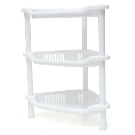 kitchen cabinet shelf plastic 3 tier plastic corner shelf unit organizer cabinet