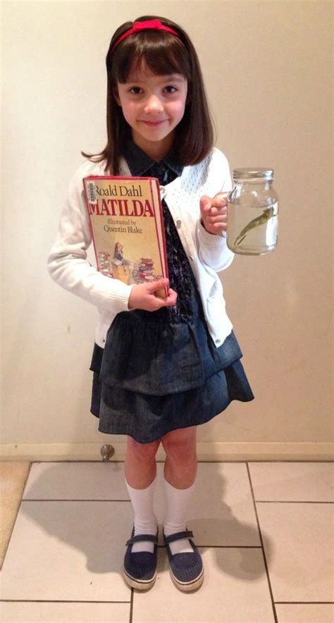 21 awesome world book day costume ideas for kids matilda