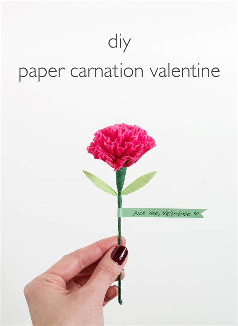How To Make Tissue Paper Carnations - diy tissue paper carnation i want to try this