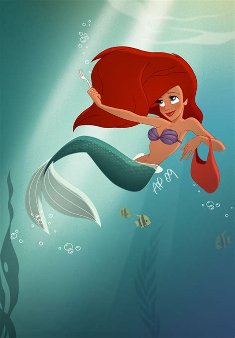 A Bit Of A Crush Now by The Sea I M In This Show Right Now As Ariel I