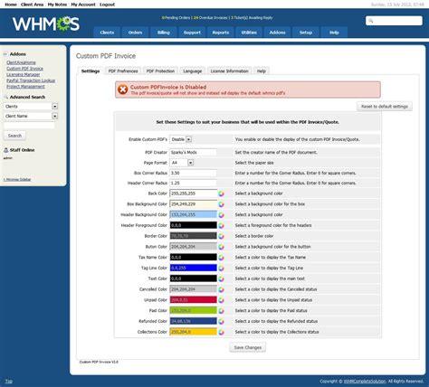 Whmcs Invoice Template by Whmcs Invoice Template Hardhost Info