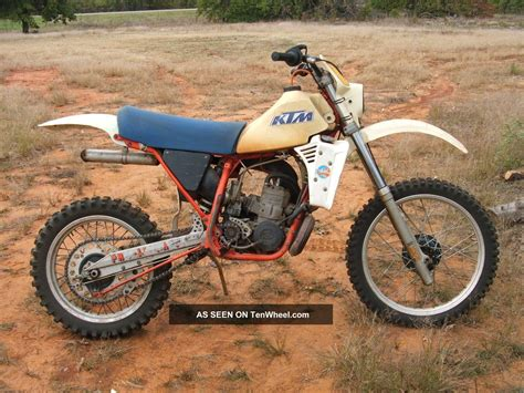 low motocross 1983 ktm 250 mx vintage motocross motocycle low usage