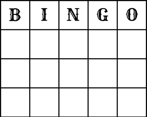 free printable blank bingo cards template make free wedding bingo printout and epson xp212